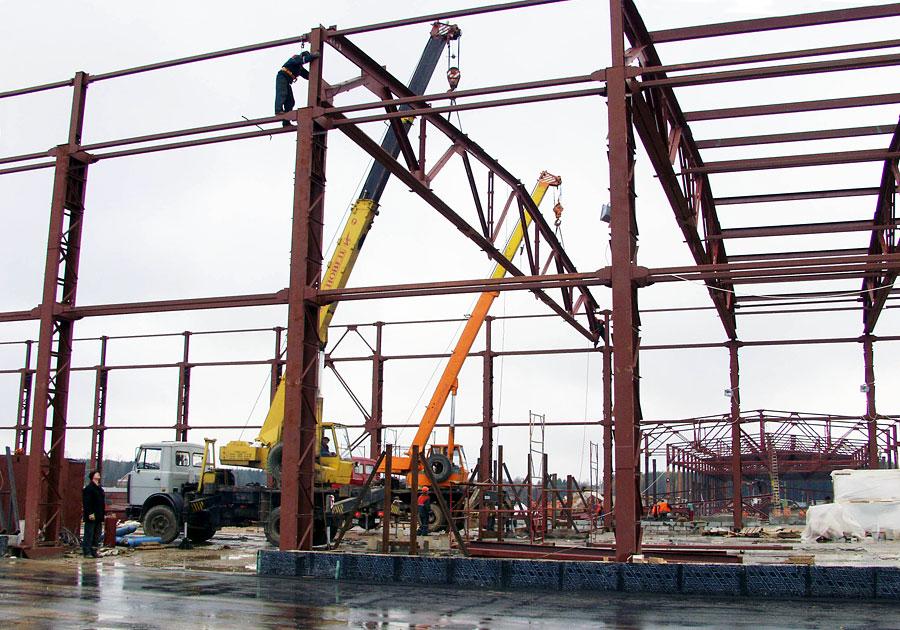монтаж усиление и демонтаж резервуарных конструкций